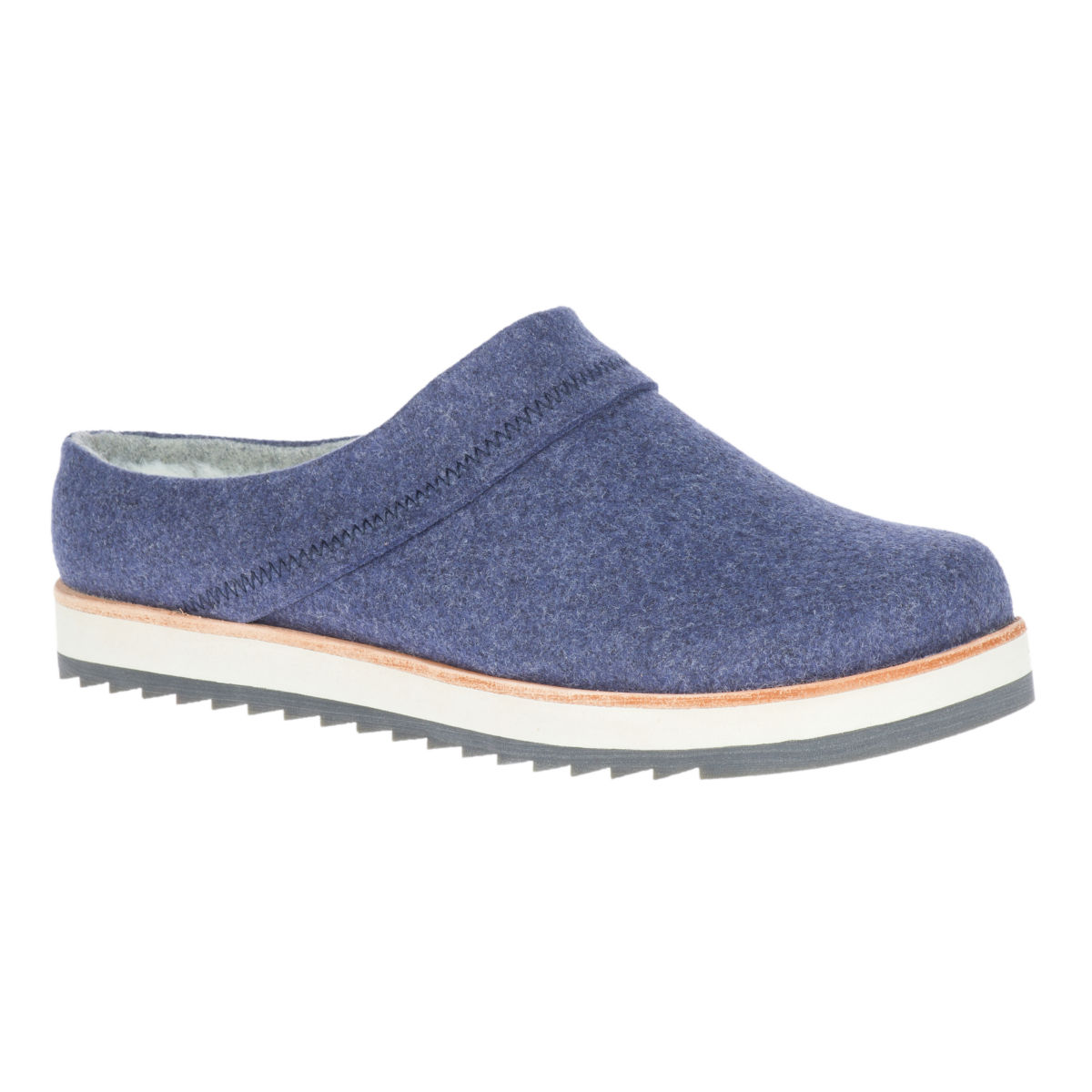 Merrell®  Juno Wool Clogs - NAVYimage number 0