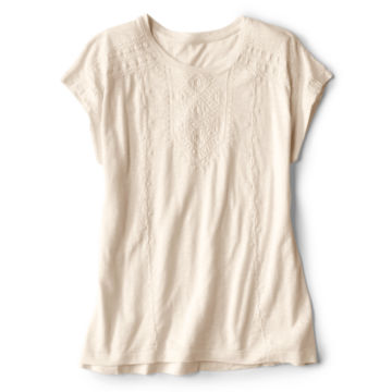 Moab Embroidered Dolman Tee - SNOW image number 3