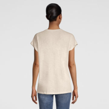 Moab Embroidered Dolman Tee - SNOW image number 2