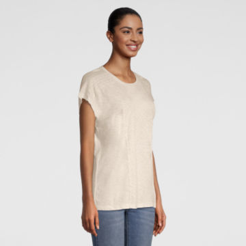 Moab Embroidered Dolman Tee - SNOW image number 1