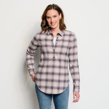 Tech Flannel Tunic Shirt -