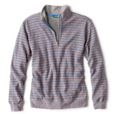Sullivan Striped Quarter-Zip Sweatshirt -