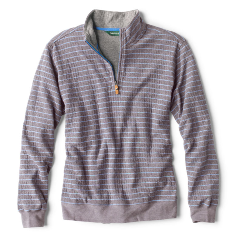 Sullivan Striped Quarter-Zip Sweatshirt -  image number 0