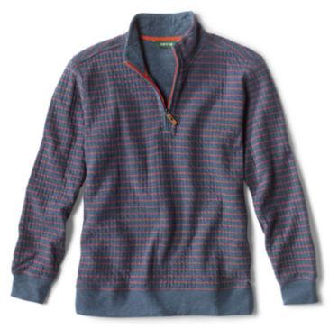 Sullivan Striped Quarter-Zip Sweatshirt -