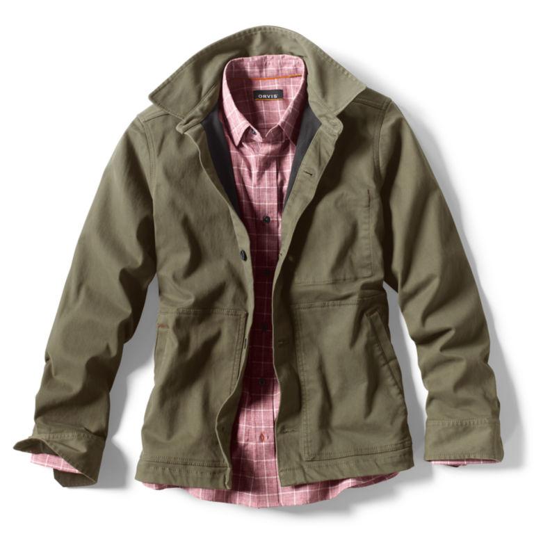 Heritage Shirt Jacket - OLIVE image number 1