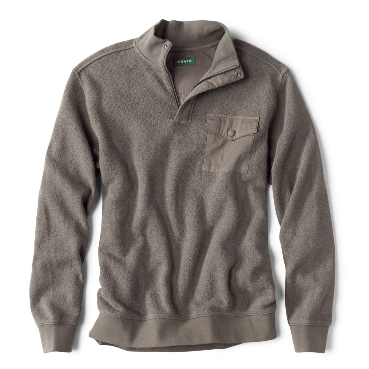 Ultimate Ultra-Ragg Quarter-Zip Sweatshirt - GRAYimage number 0