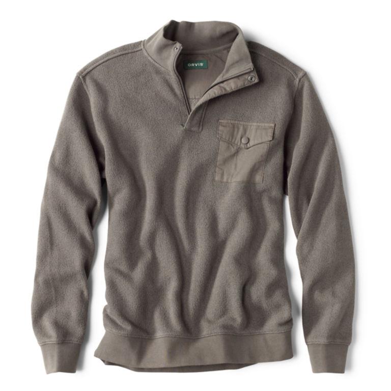 Ultimate Ultra-Ragg Quarter-Zip Sweatshirt - GRAY image number 0