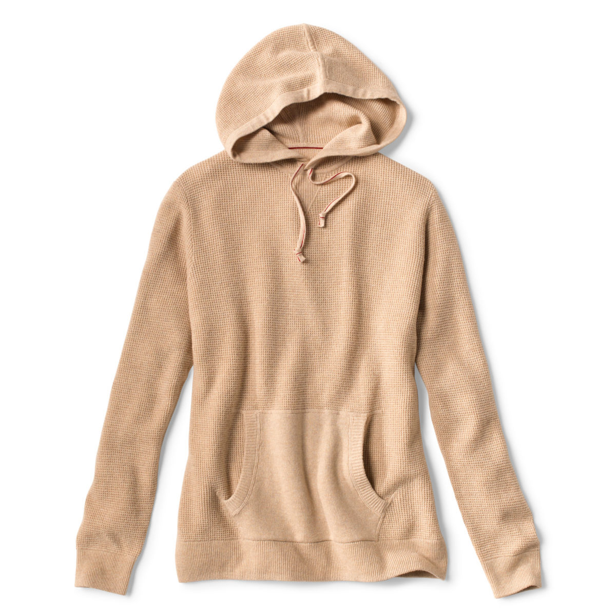Waffle Hood Wool/Cashmere Pullover - image number 0