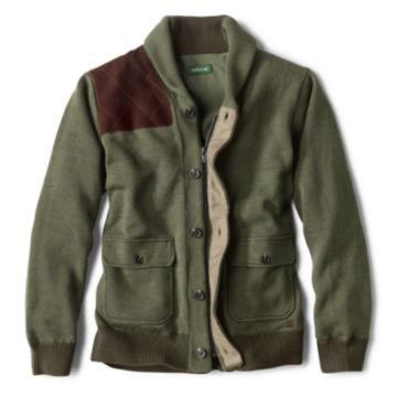 Trapper Sweater - OLIVE image number 0