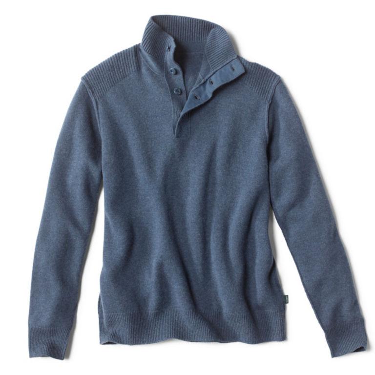 Campfire Button Mockneck Sweater -  image number 0