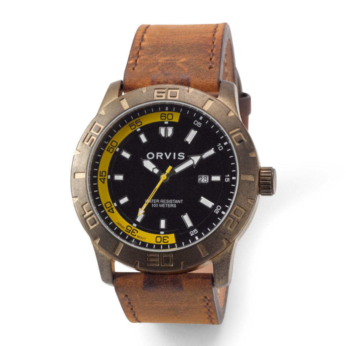 Rugged Antiqued Watch - BRASSimage number 0
