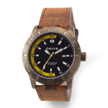 Rugged Antiqued Watch - BRASS image number 0