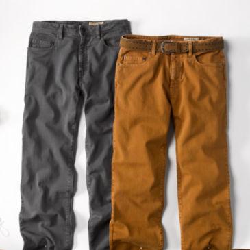 Garment-Dyed Denims -
