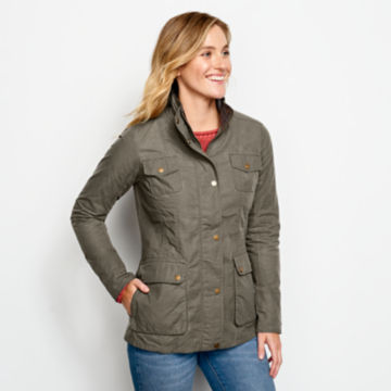 Equinox Utility Jacket - HUNTER GREEN image number 1