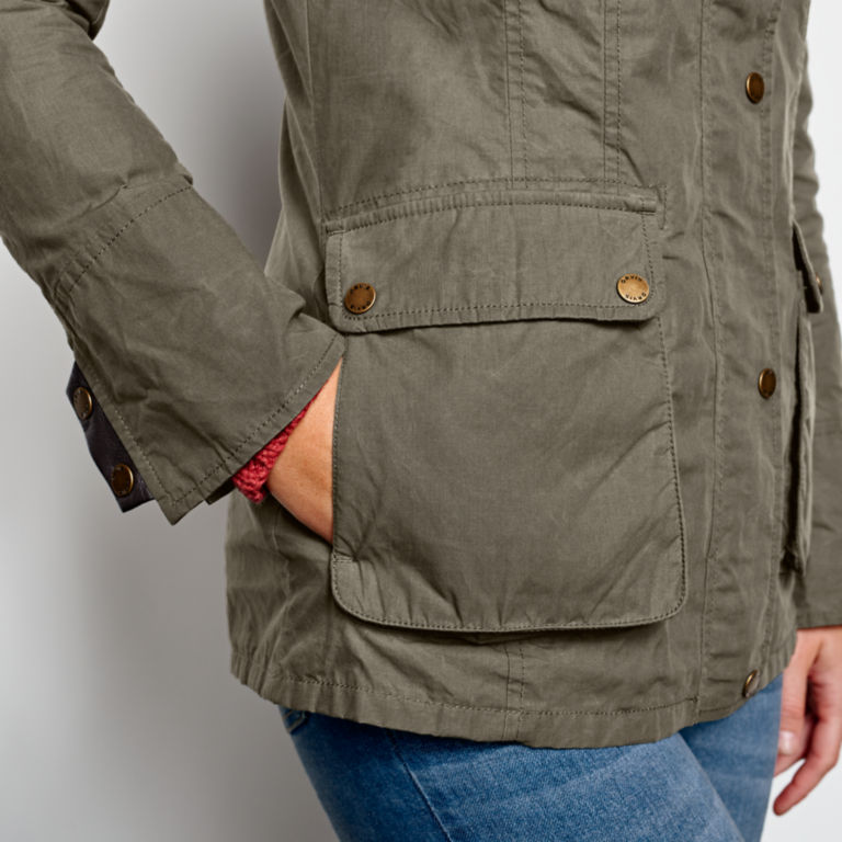 Equinox Utility Jacket - HUNTER GREEN image number 4