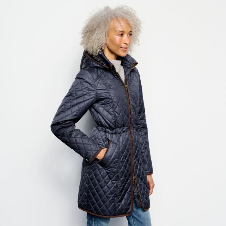 Weekender Quilted Jacket - BLUE MOON image number 2