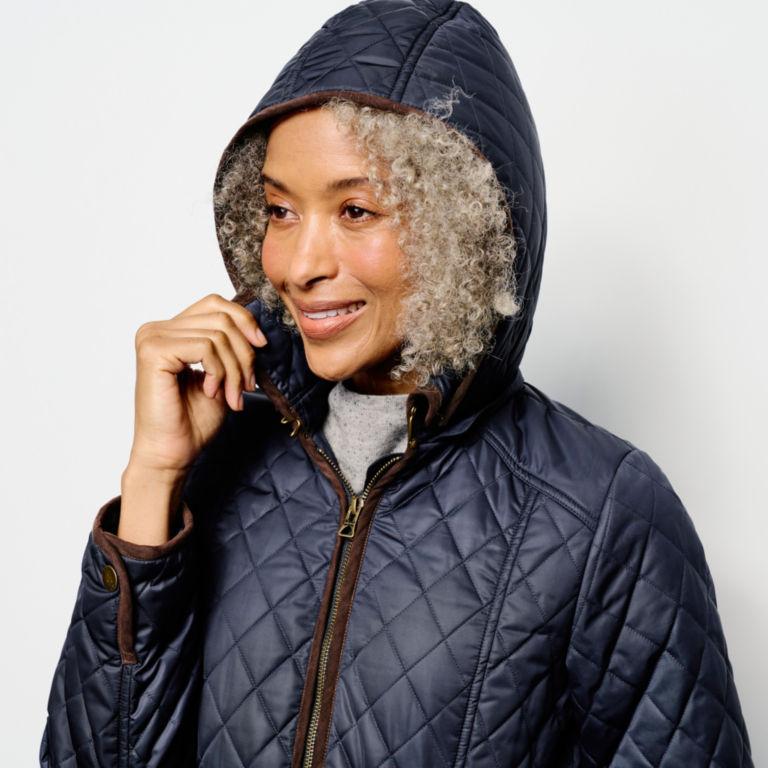 Weekender Quilted Jacket - BLUE MOON image number 4