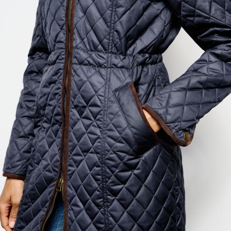 Weekender Quilted Jacket - BLUE MOON image number 5