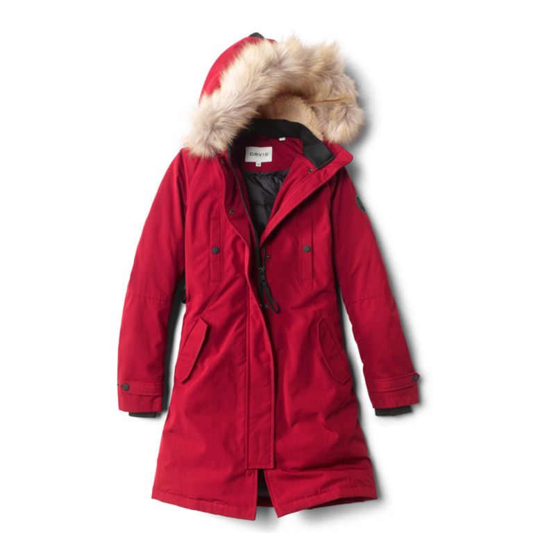 Green Mountain Parka 3.0 - GARNET image number 0