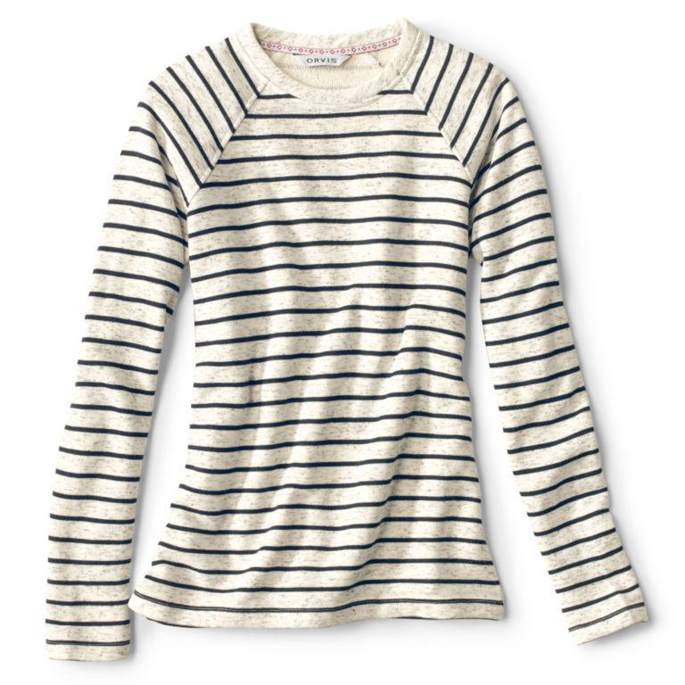 Marled Striped Sweatshirt -  image number 4