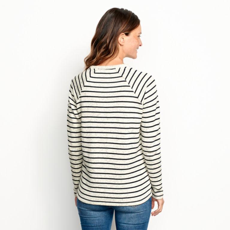 Marled Striped Sweatshirt -  image number 1