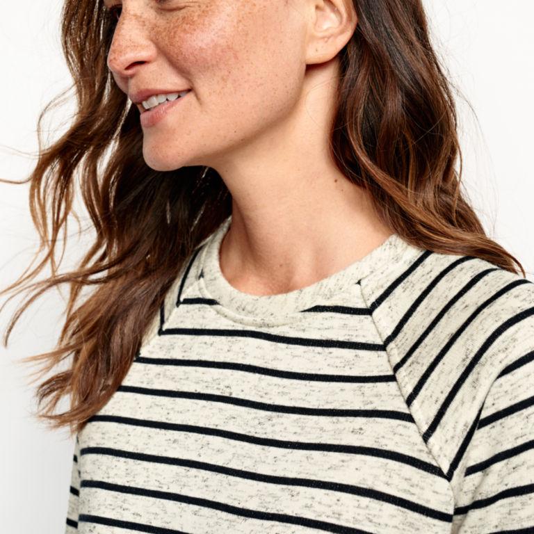 Marled Striped Sweatshirt -  image number 3