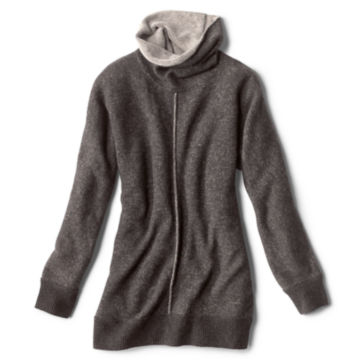 Cashmere Cowlneck Lounge Sweater -  image number 4