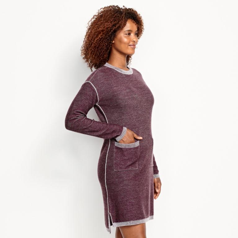 Two-Tone Signature Merino Sweater Dress -  image number 2