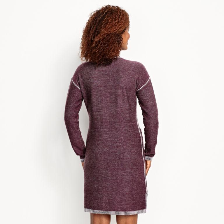 Two-Tone Signature Merino Sweater Dress -  image number 1