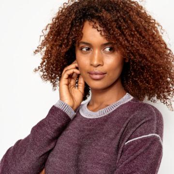 Two-Tone Signature Merino Sweater Dress -  image number 3