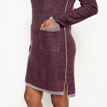 Two-Tone Signature Merino Sweater Dress -  image number 4