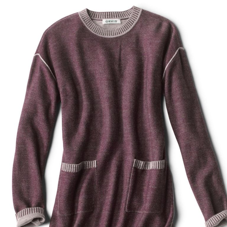 Two-Tone Signature Merino Sweater Dress -  image number 5