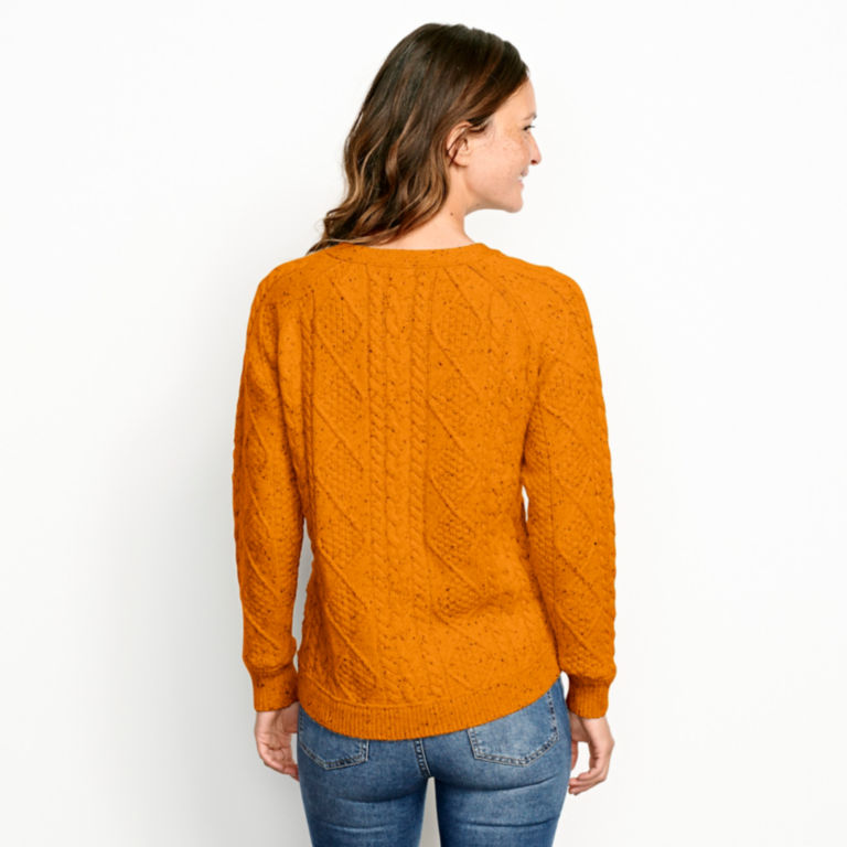 Donegal Cable Crew Sweater -  image number 2
