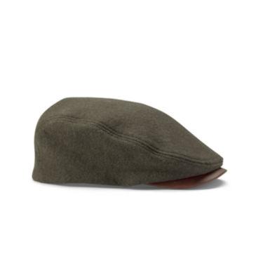 Melton Wool Driving Cap -