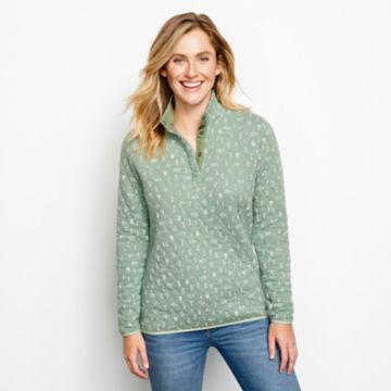 Outdoor Quilted Snap Sweatshirt -  image number 0