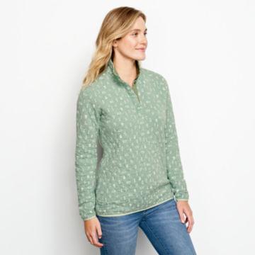 Outdoor Quilted Snap Sweatshirt -  image number 1