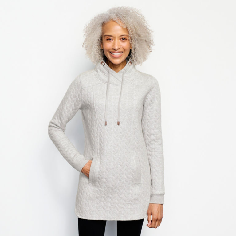 Jacquard Tunic Sweatshirt -  image number 0