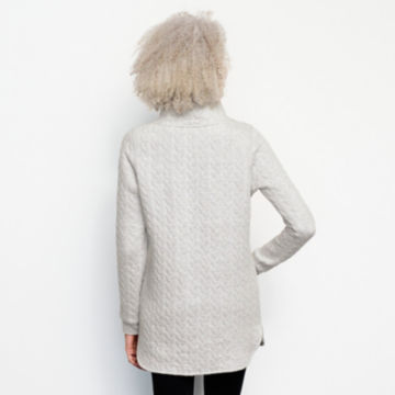 Jacquard Tunic Sweatshirt -  image number 2