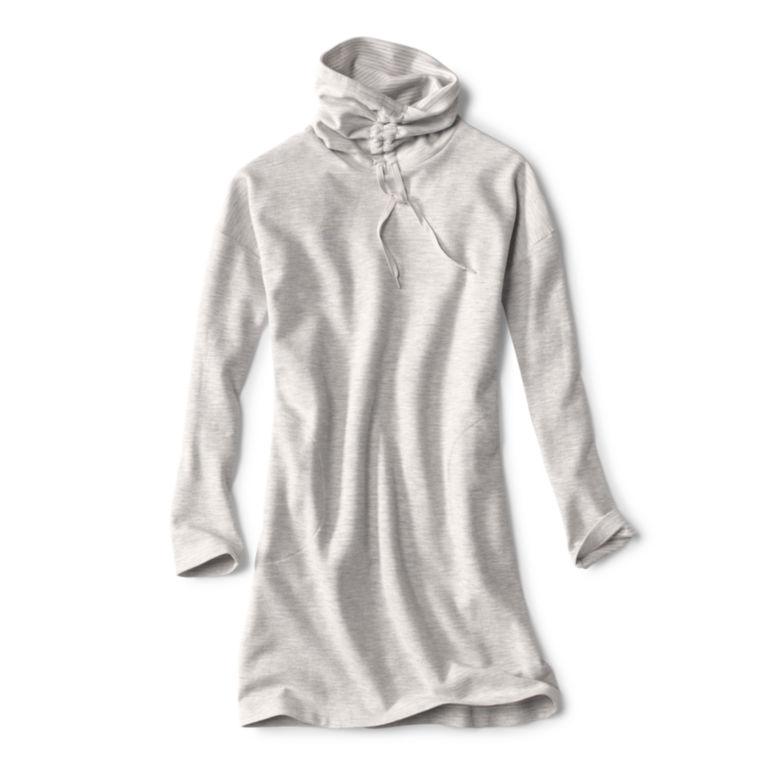 Journey Ruched-Neck Sweatshirt Dress -  image number 0