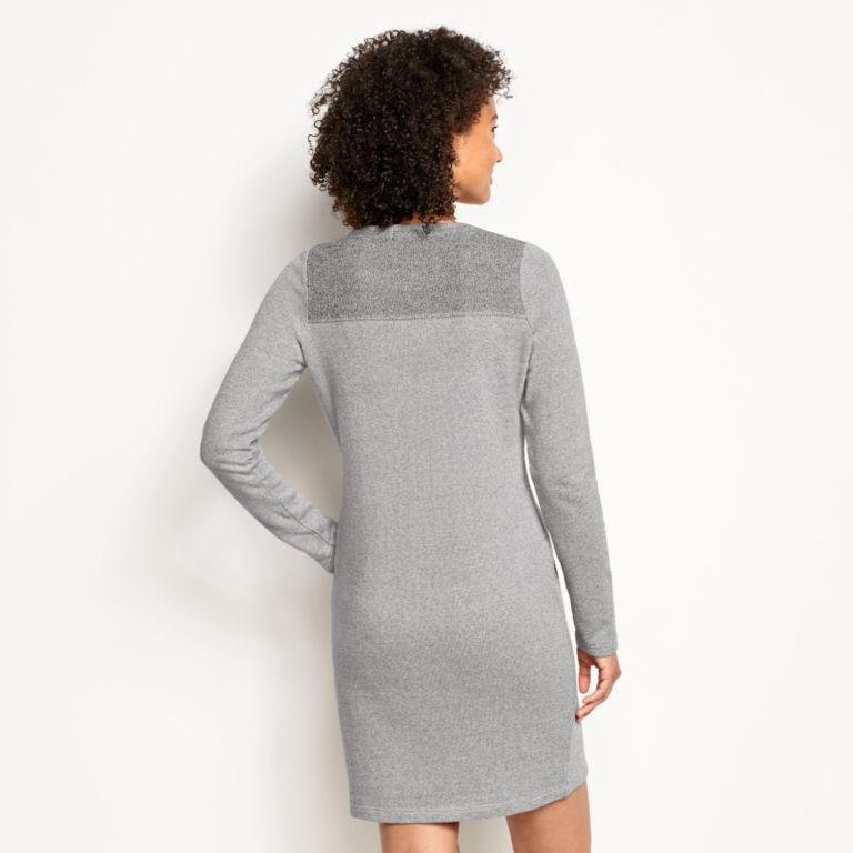 Reverse Terry Sweatshirt Dress -  image number 2