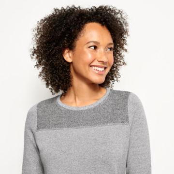 Reverse Terry Sweatshirt Dress -  image number 3