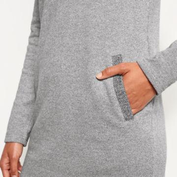 Reverse Terry Sweatshirt Dress -  image number 4