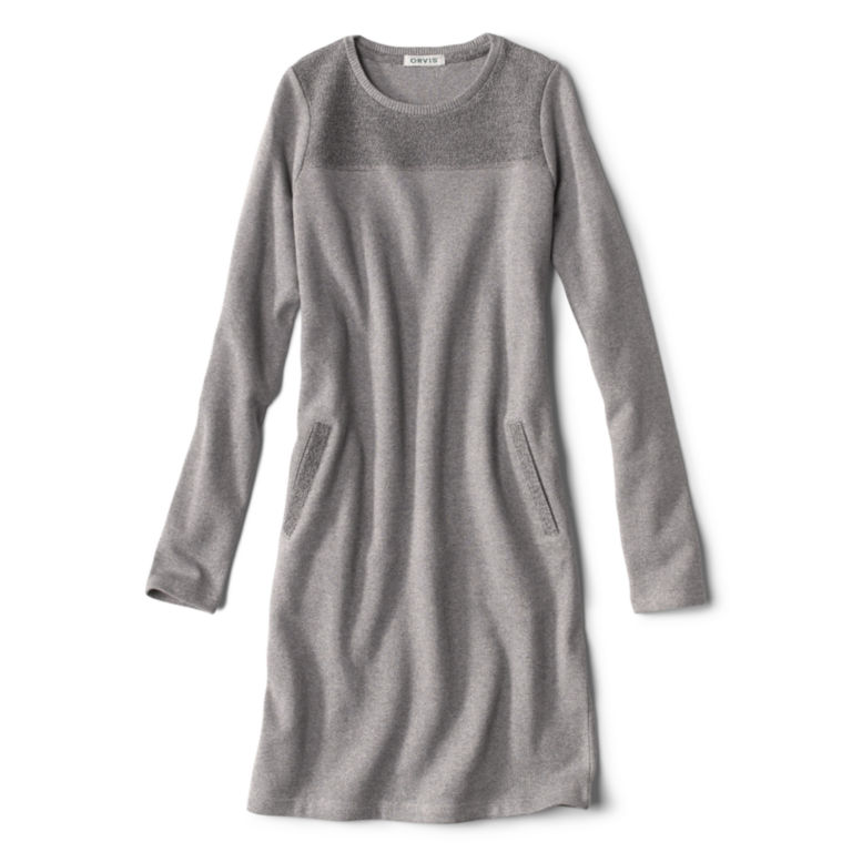 Reverse Terry Sweatshirt Dress -  image number 5