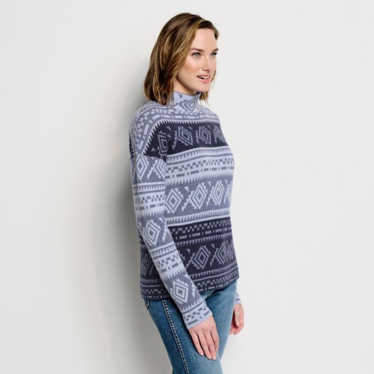 Natural Fair Isle Dolman Sweater -  image number 1