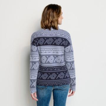 Natural Fair Isle Dolman Sweater -  image number 2