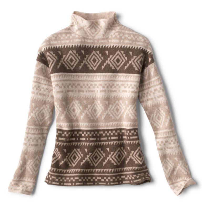 Natural Fair Isle Dolman Sweater -  image number 4
