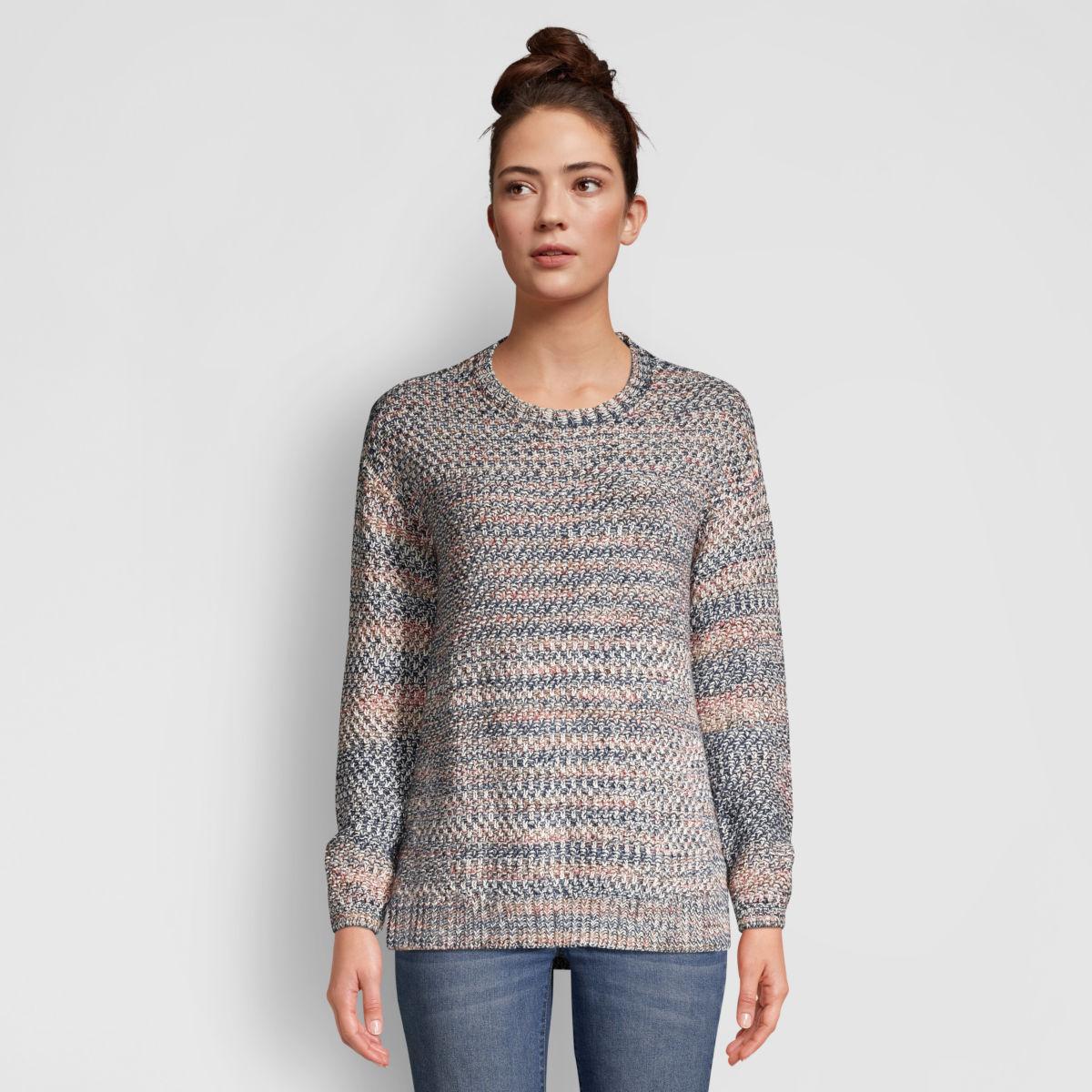 Artisanal Marled Yarn Crewneck Sweater - image number 0