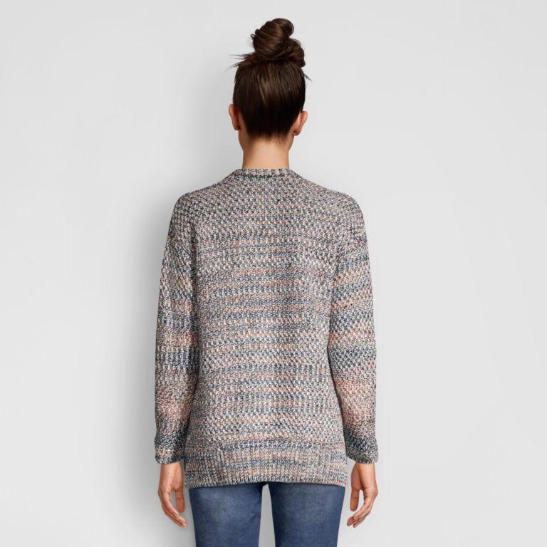 Artisanal Marled Yarn Crewneck Sweater -  image number 2