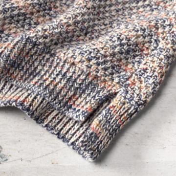 Artisanal Marled Yarn Crewneck Sweater -  image number 3