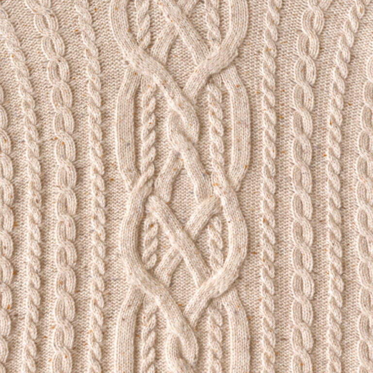 Donegal Cable Turtleneck Sweater -  image number 4